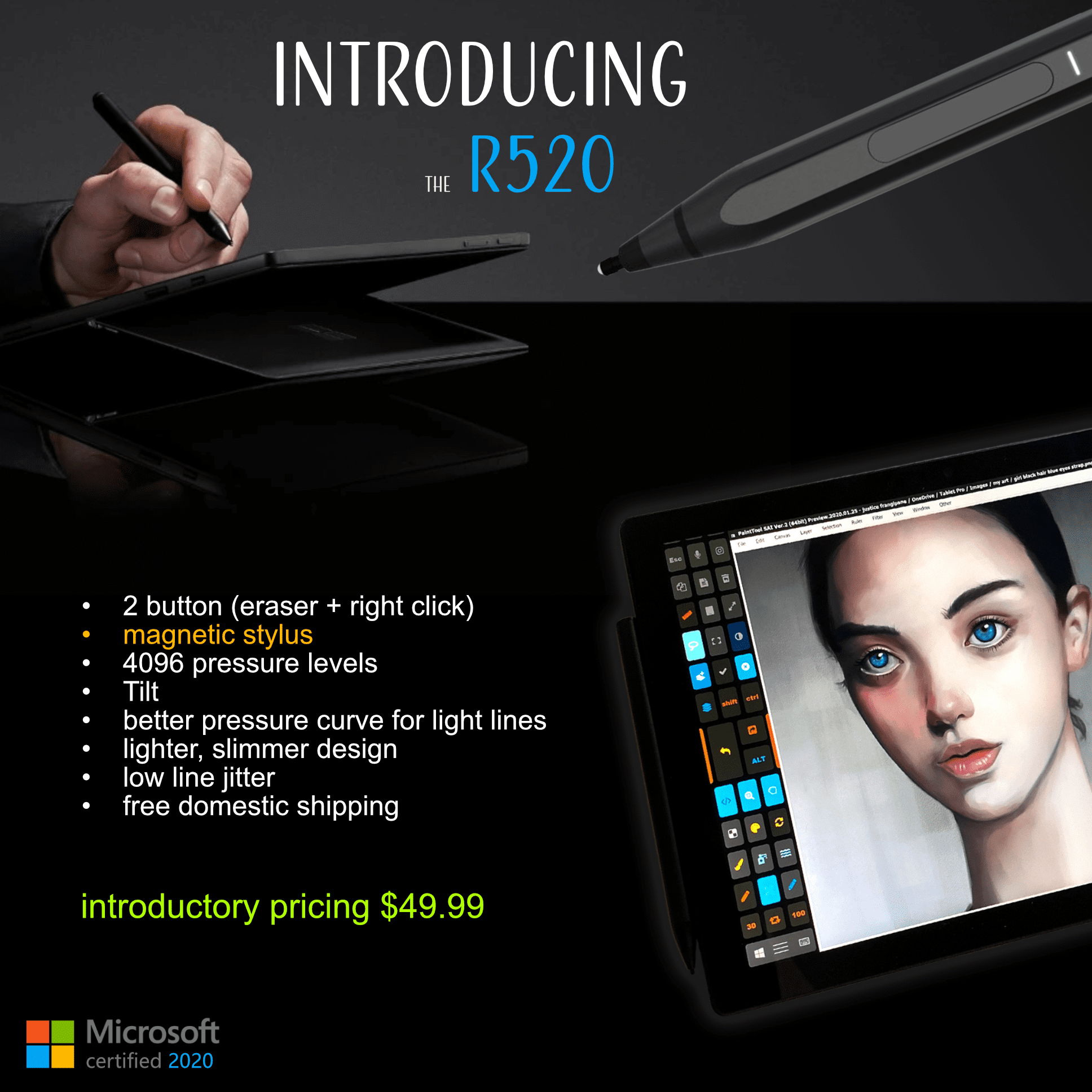 best stylus for digital art mpp
